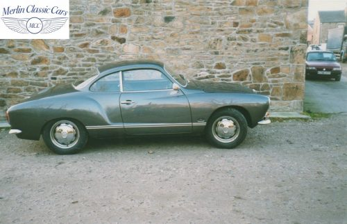 Karmann Ghia Restoration Photos 9