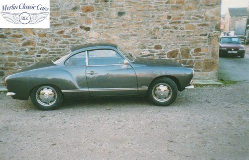 Karmann Ghia Restoration Photos 9