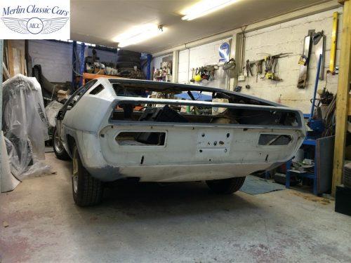 Lamborghini Metal Work