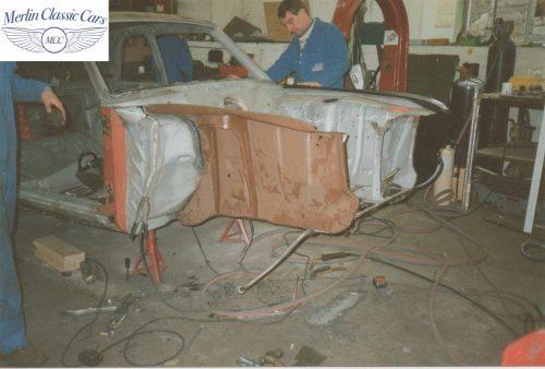 Lotus Cortina Restoration MkII 1