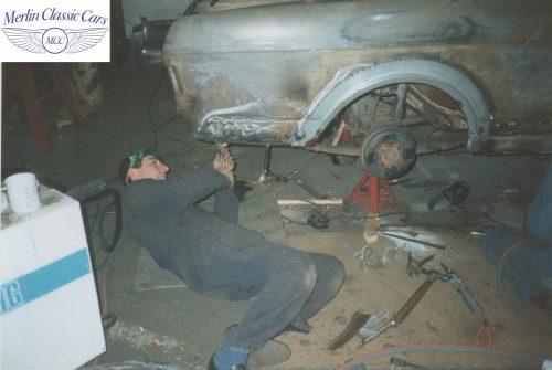 Lotus Cortina Restoration MkII 2