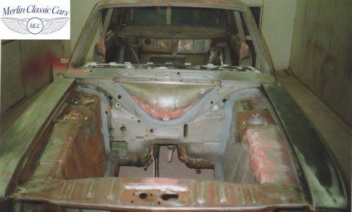 Lotus Cortina Restoration MkII 3