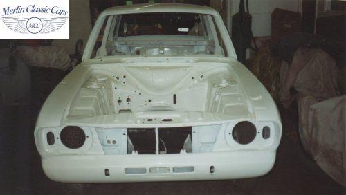 Lotus Cortina Restoration MkII 4