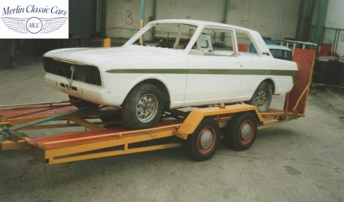 Lotus Cortina Restoration MkII 5