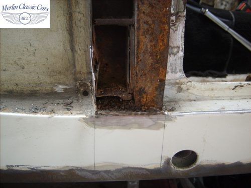 MG Midget Restoration & Paintwork 1