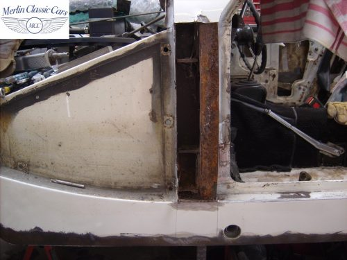 MG Midget Restoration & Paintwork 2