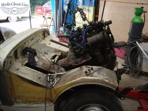 MG Midget Restoration & Paintwork 32