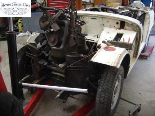 MG Midget Restoration & Paintwork 33