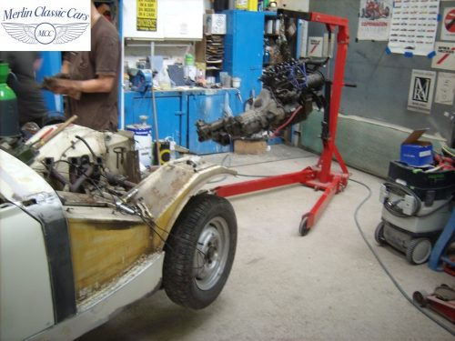 MG Midget Restoration & Paintwork 35
