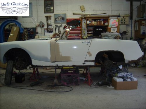 MG Midget Restoration & Paintwork 4