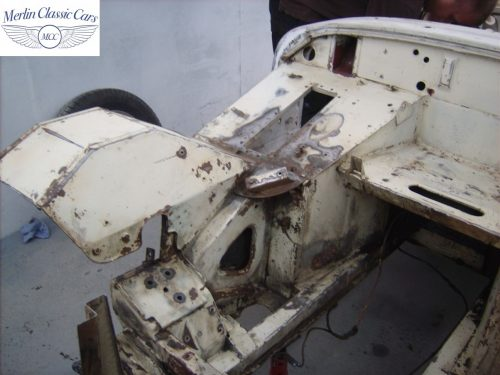 MG Midget Restoration & Paintwork 46