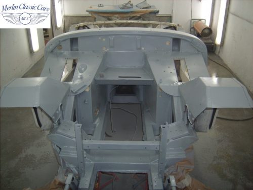 MG Midget Restoration & Paintwork 49