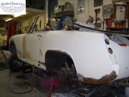 MG Midget Restoration & Paintwork 5