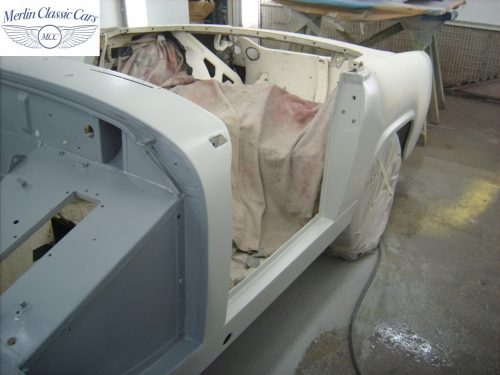 MG Midget Restoration & Paintwork 51