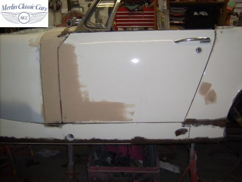 MG Midget Restoration & Paintwork 6