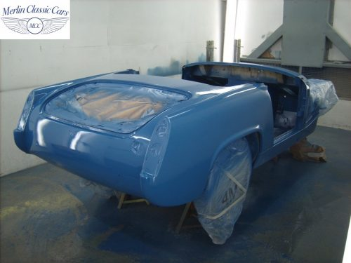 MG Midget Restoration & Paintwork 67