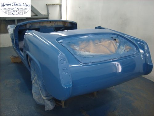 MG Midget Restoration & Paintwork 68