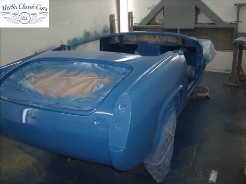 MG Midget Restoration & Paintwork 71