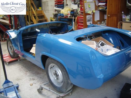 MG Midget Restoration & Paintwork 77