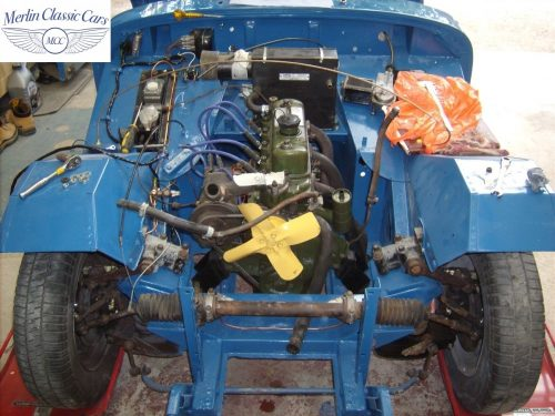 MG Midget Restoration & Paintwork 78