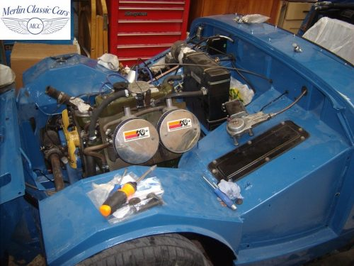 MG Midget Restoration & Paintwork 83