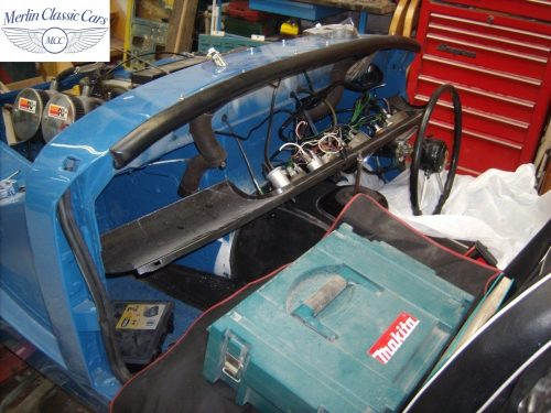 MG Midget Restoration & Paintwork 84