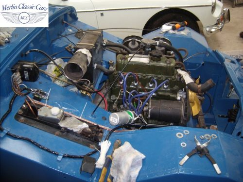 MG Midget Restoration & Paintwork 87