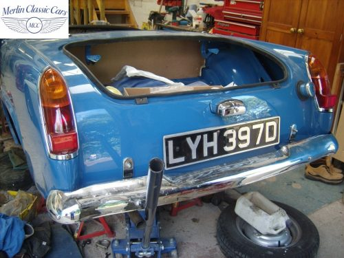 MG Midget Restoration & Paintwork 88