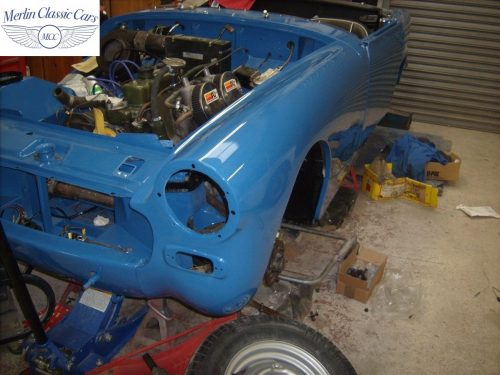 MG Midget Restoration & Paintwork 89