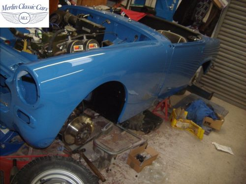 MG Midget Restoration & Paintwork 90