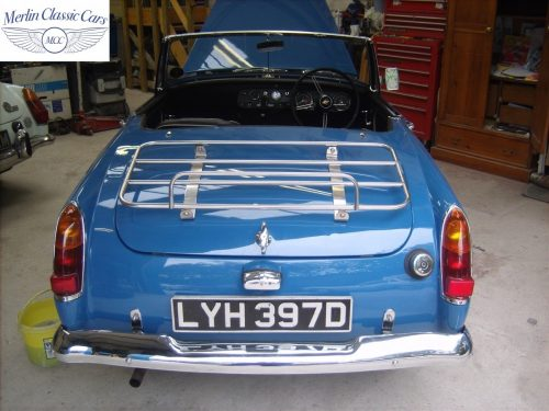 MG Midget Restoration & Paintwork 91
