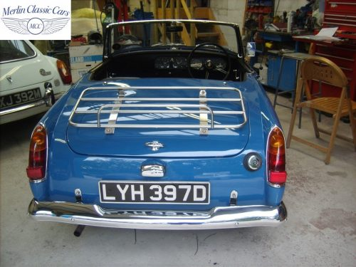 MG Midget Restoration & Paintwork 92