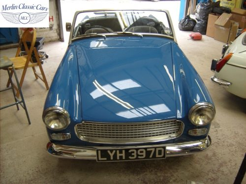 MG Midget Restoration & Paintwork 93
