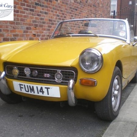 MG Midget Yellow 1
