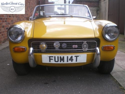 MG Midget Yellow 2