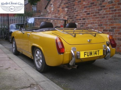 MG Midget Yellow 3