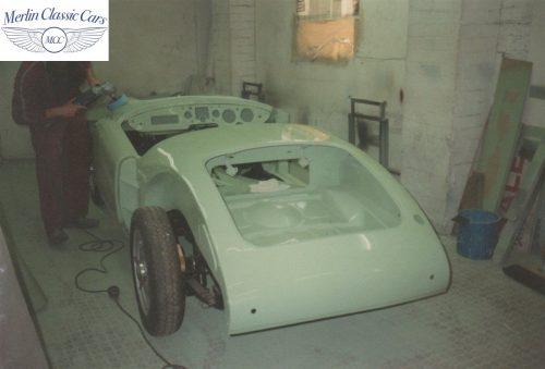 MGA Restoration Twin Cam In Ash Green 2