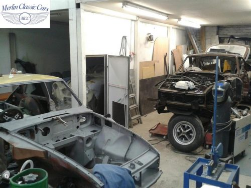 MGB GT Race Car Restoration 1967 1