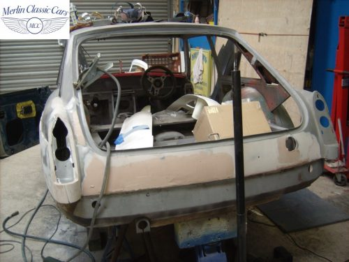MGB GT Race Car Restoration 1967 10