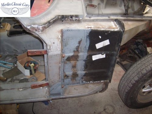 MGB GT Race Car Restoration 1967 12