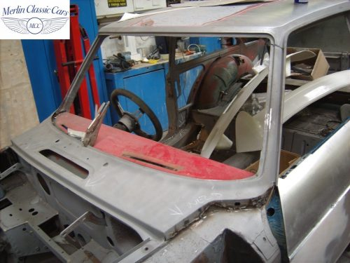 MGB GT Race Car Restoration 1967 13