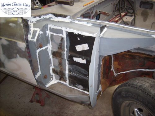 MGB GT Race Car Restoration 1967 15