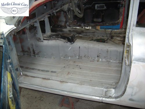 MGB GT Race Car Restoration 1967 21