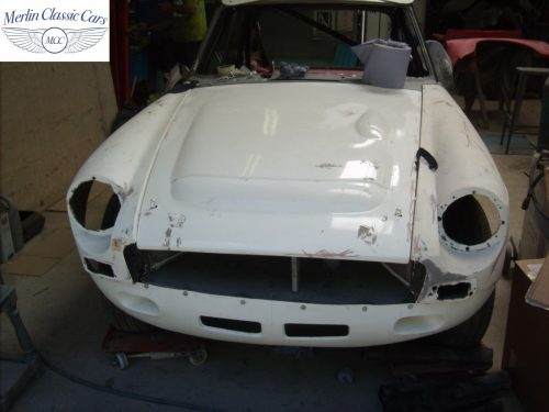 MGB GT Race Car Restoration 1967 24