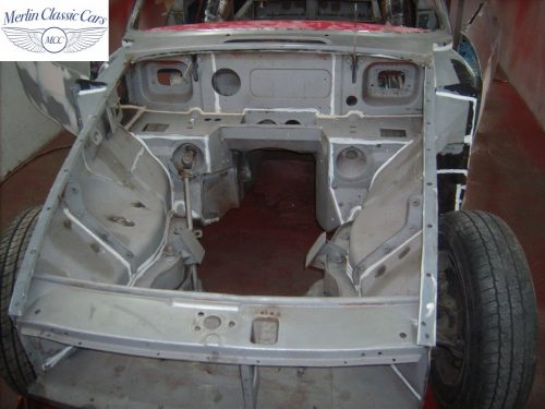 MGB GT Race Car Restoration 1967 26