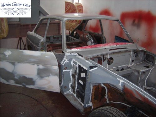 MGB GT Race Car Restoration 1967 27