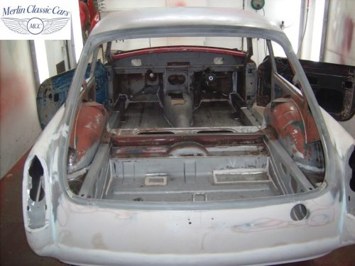 MGB GT Race Car Restoration 1967 28