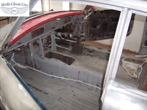 MGB GT Race Car Restoration 1967 29