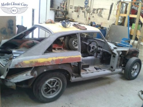 MGB GT Race Car Restoration 1967 3