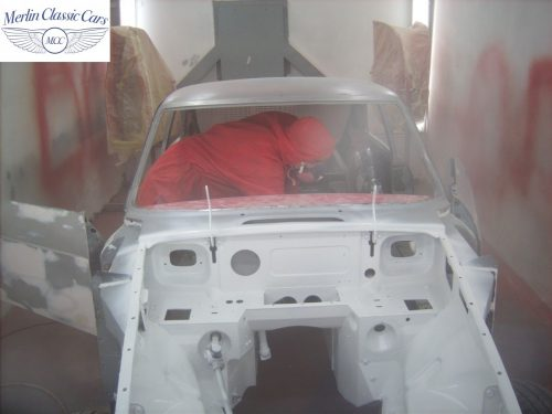 MGB GT Race Car Restoration 1967 30